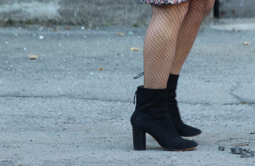 get your fishnets on